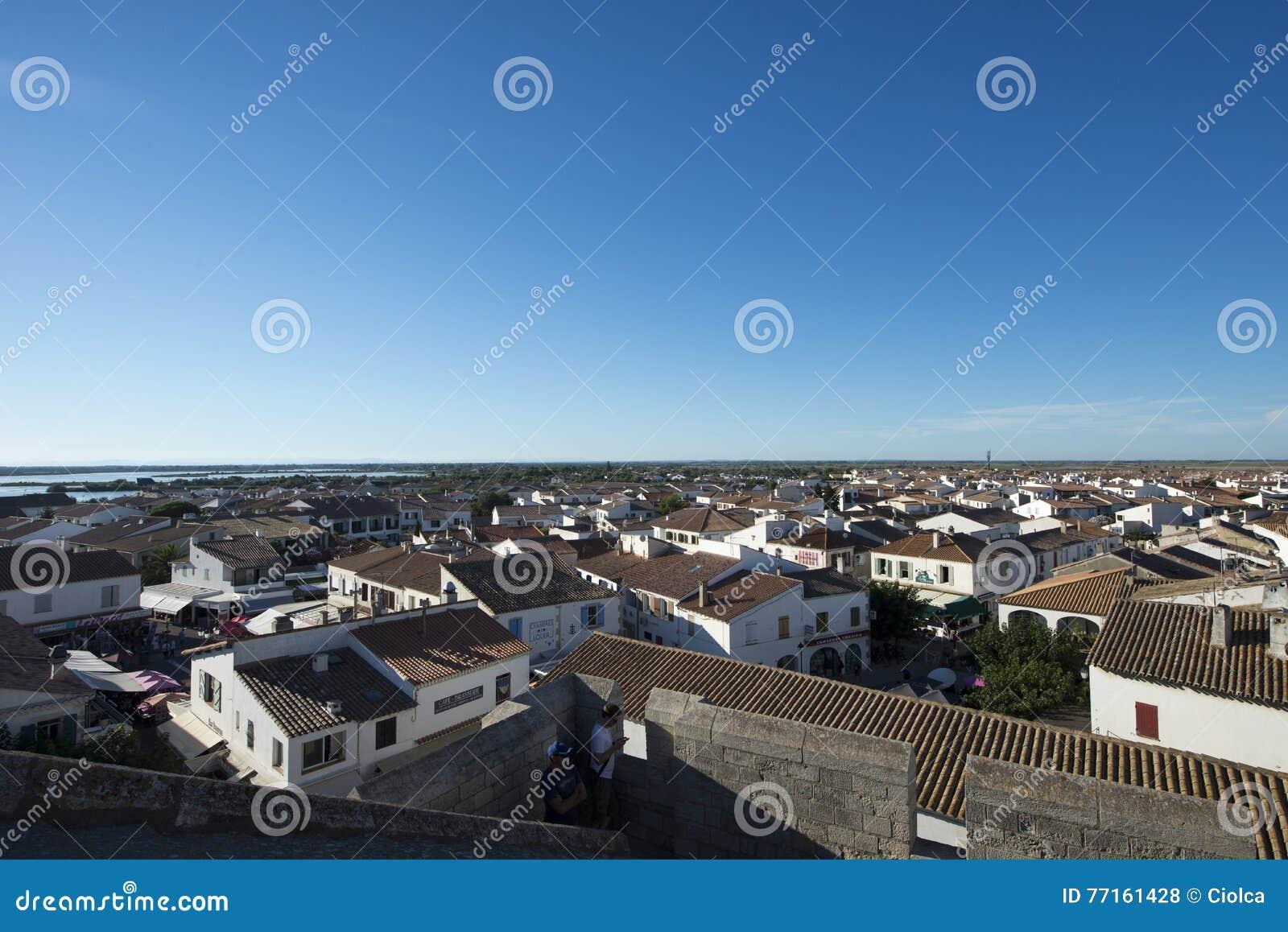 Aperçu de Saintes-Maries-de-la-Mer, France