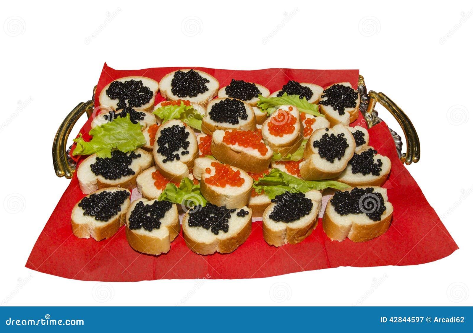 Aperitivo com caviar