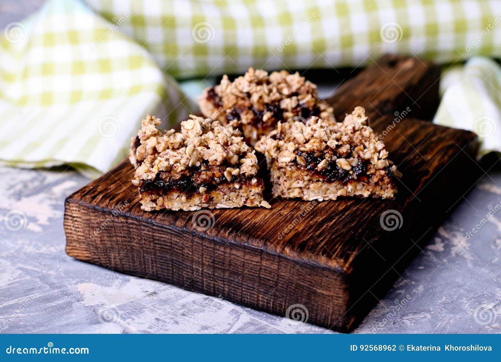 Aperitivo della torta e della briciola della prugna