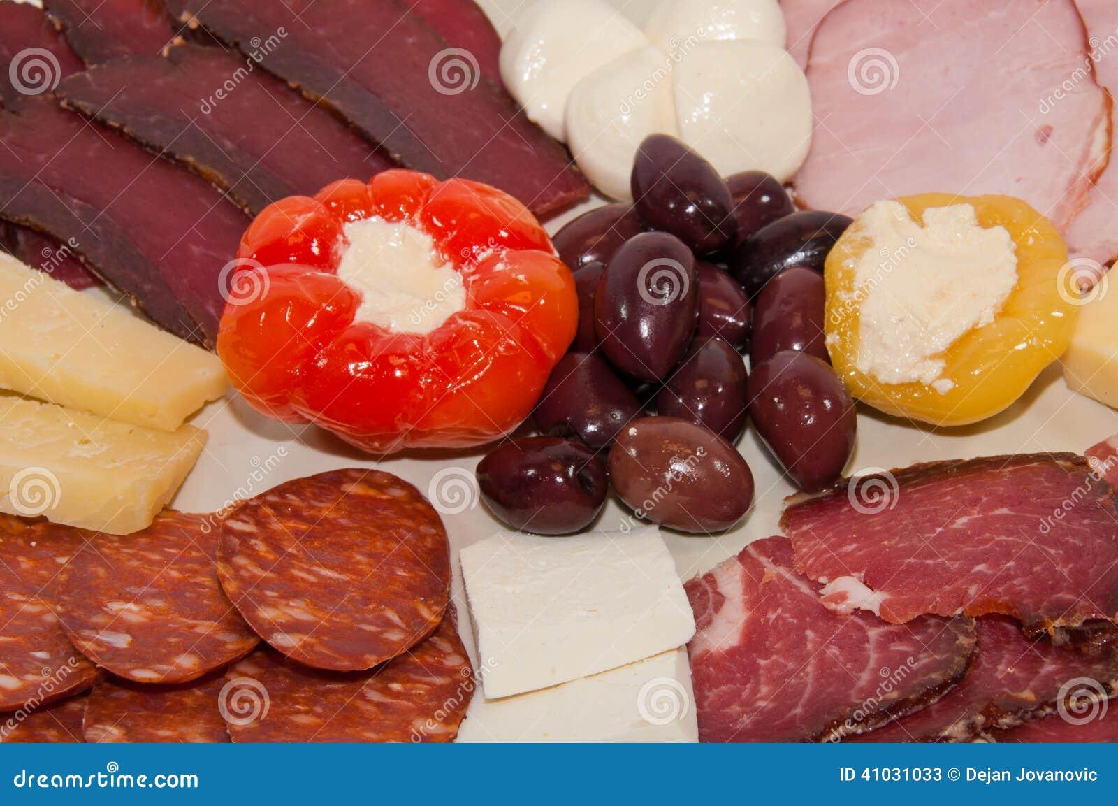 Aperitivo misto della carne