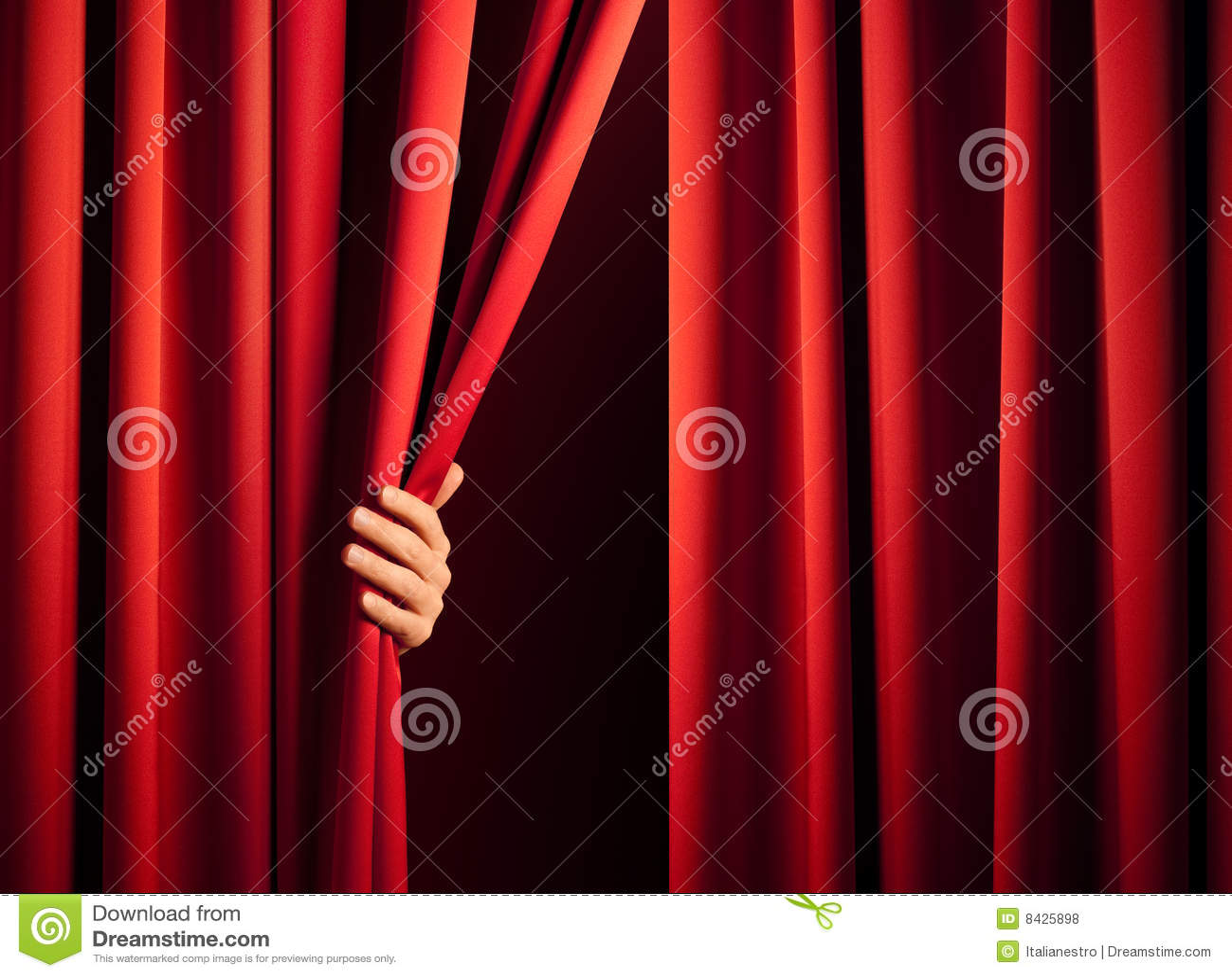 Apertura de la cortina