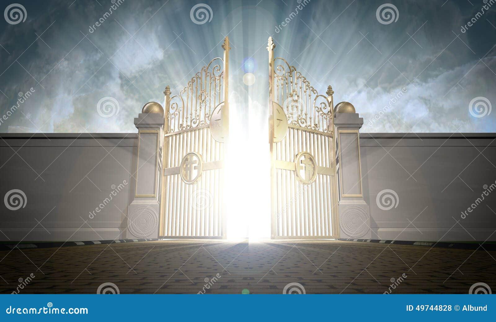 Apertura de las puertas de los cielos