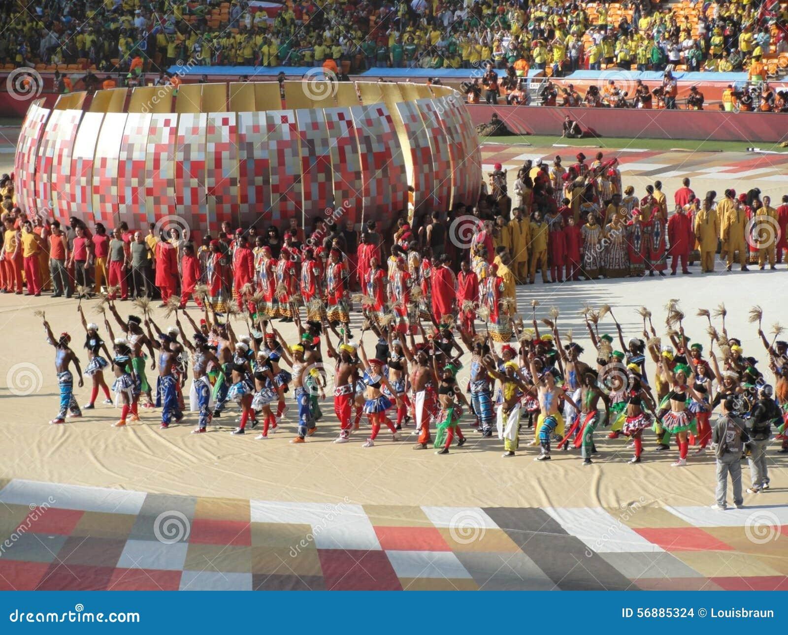 Apertura 2010 della coppa del Mondo della FIFA