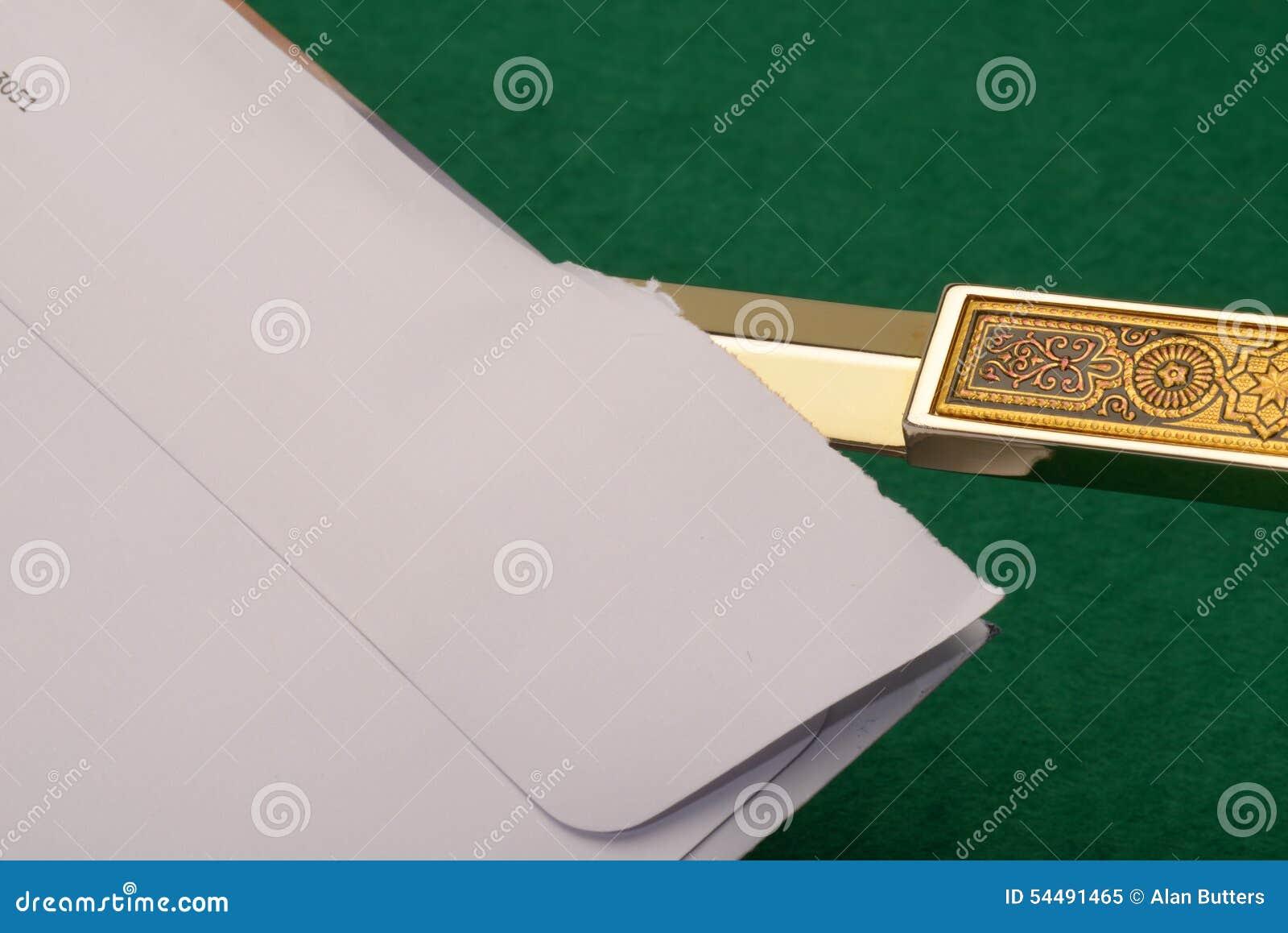 Apertura della lettera