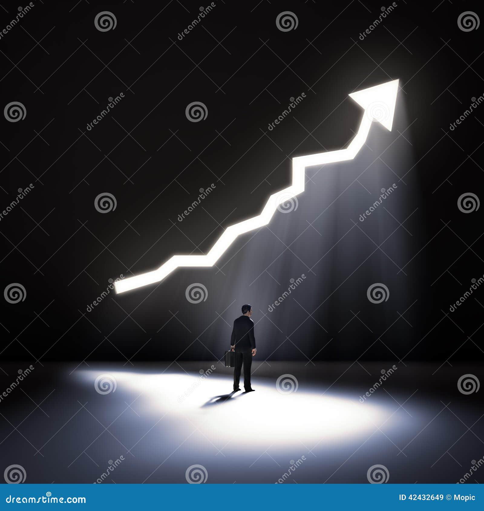 Apertura en un gráfico de la pared