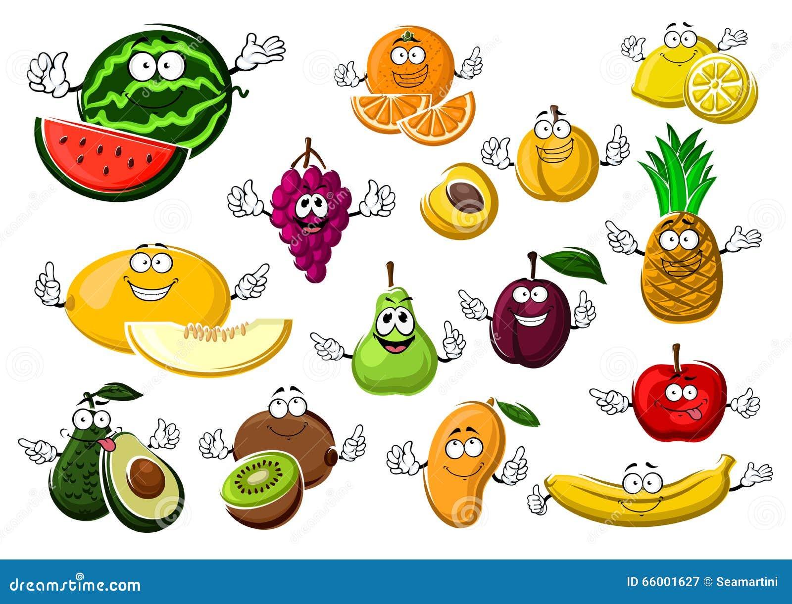 Apetyczne dojrzałe tropikalne i ogrodowe owoc