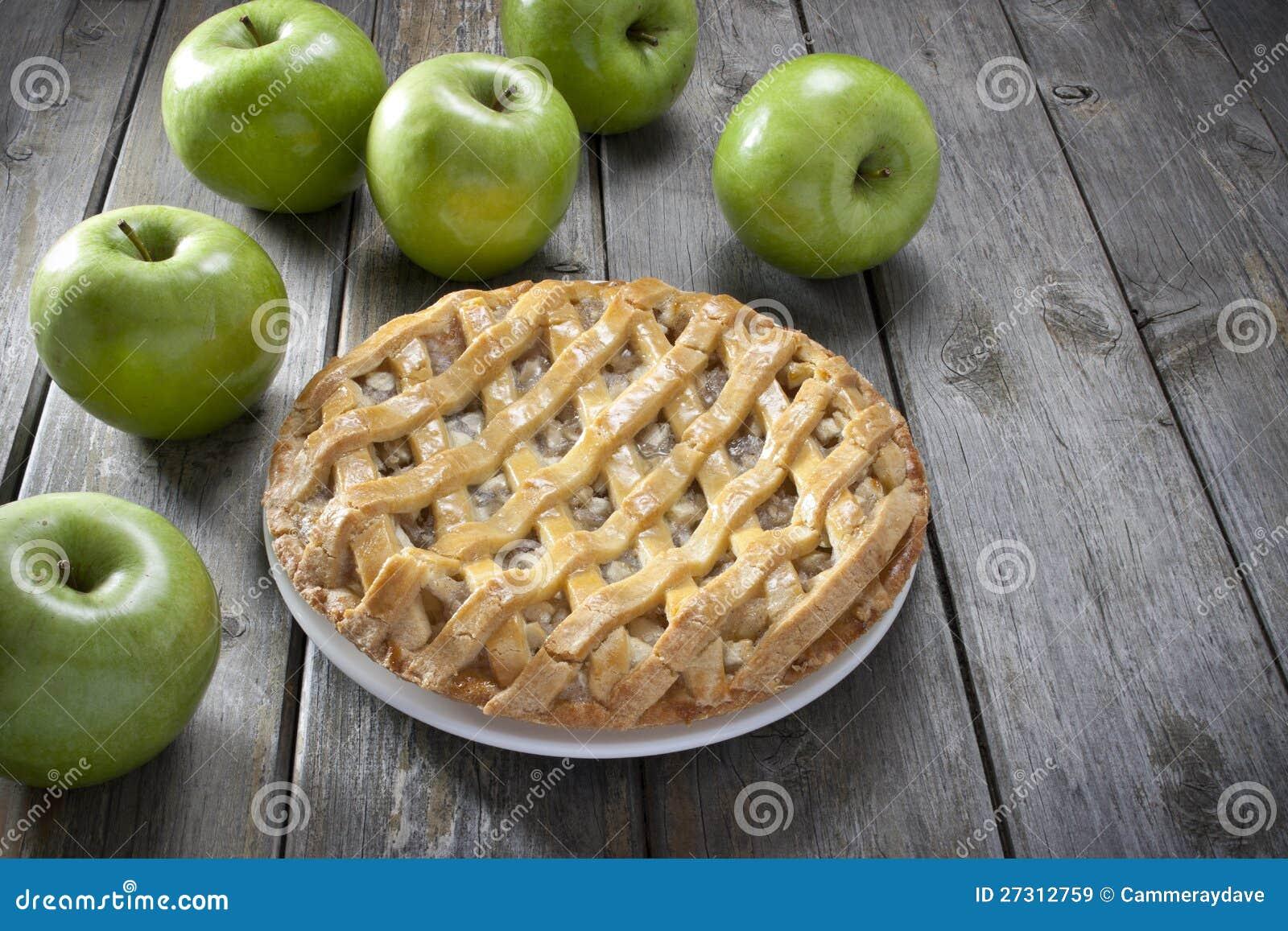 Apfelkuchen-Nachtisch
