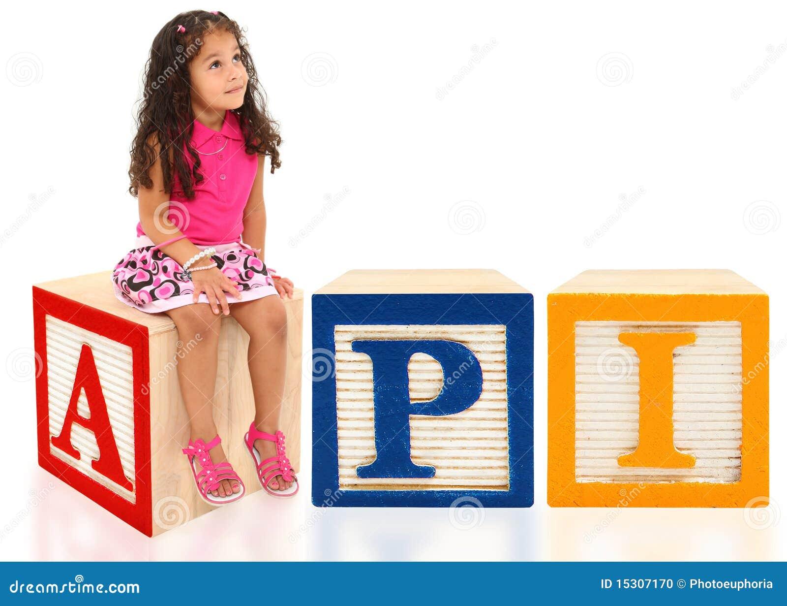 API com menina.