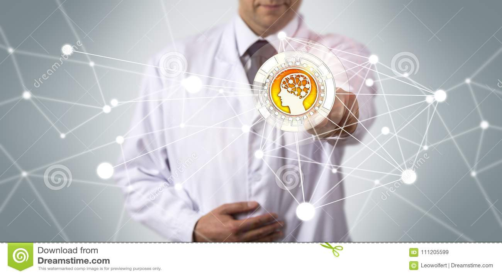 Aplicação científica de Initiating AI do pesquisador