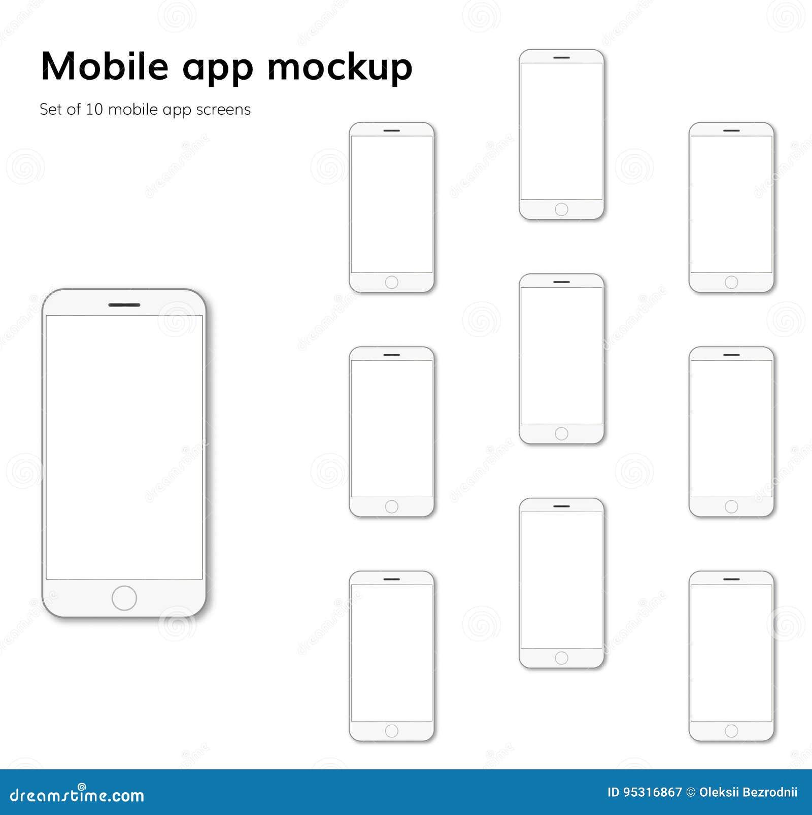 A aplicação móvel seleciona o vetor do modelo