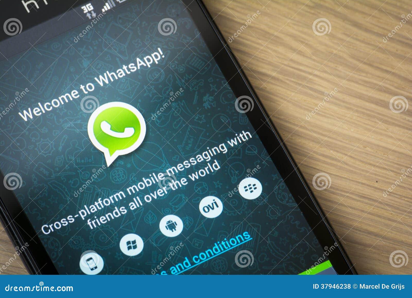 Aplicación móvil de WhatsApp