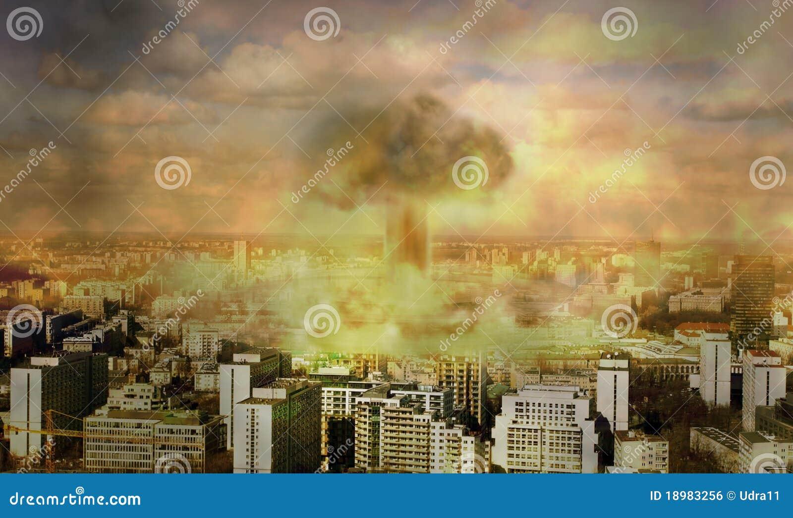 Apokalypset bombarderar kärn-