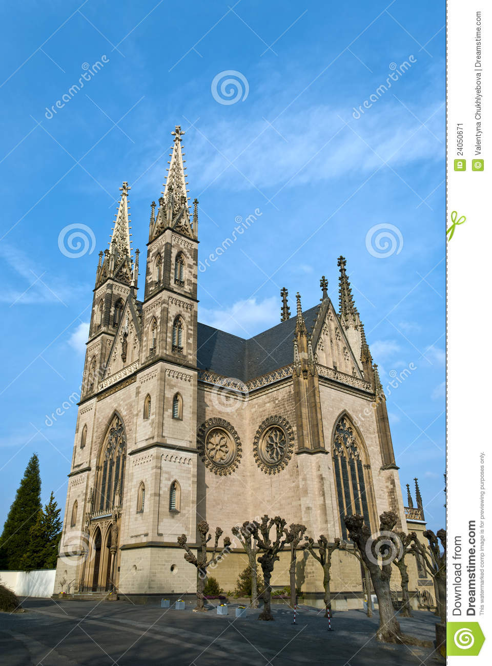 how to say church in german