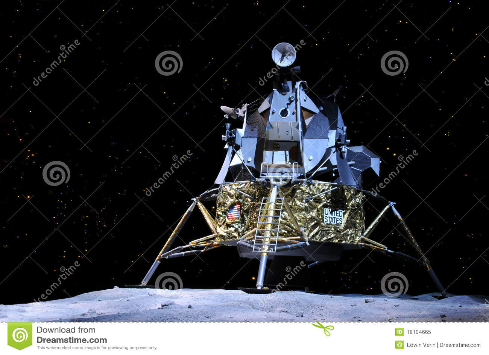 Apollo 17 Lunar Module editorial image. Image of apollo ...
