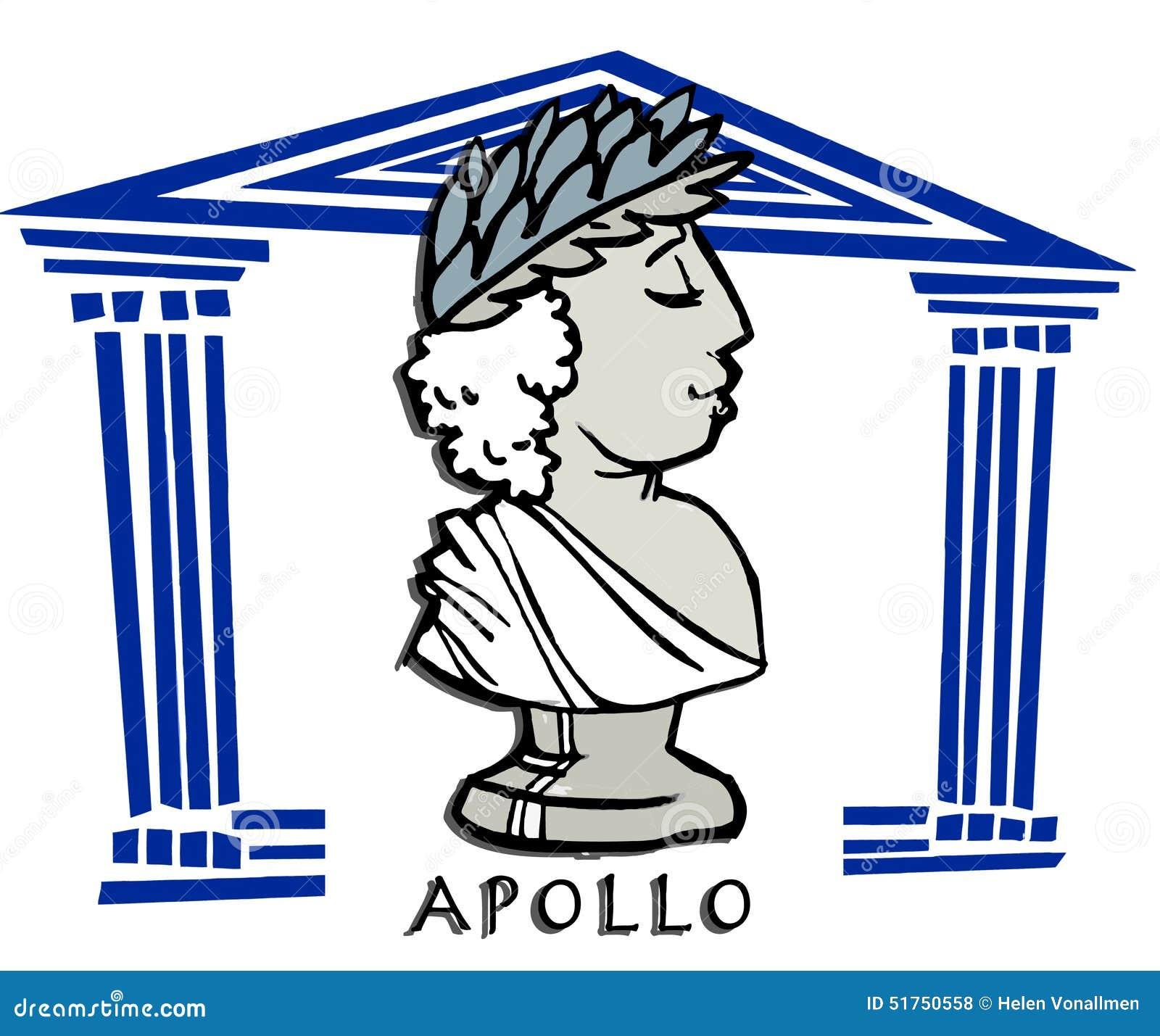 Apollophoebus greek god cartoon stock vector illustration of apollophoebus greek god cartoon biocorpaavc