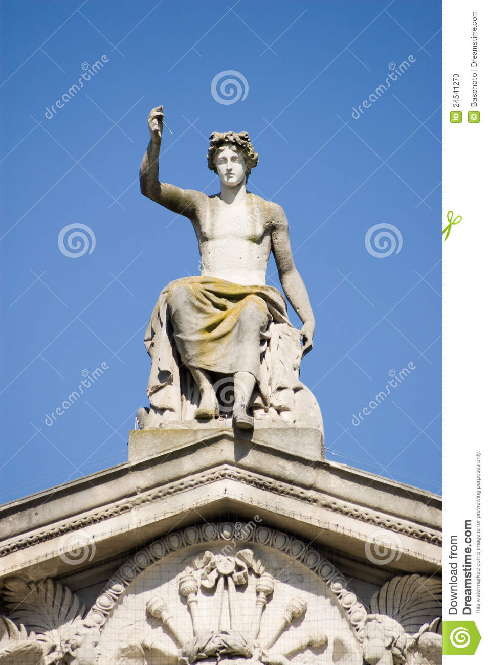 Apollo Statue, Ashmoleon Museum, Oxford Stock Photo ...