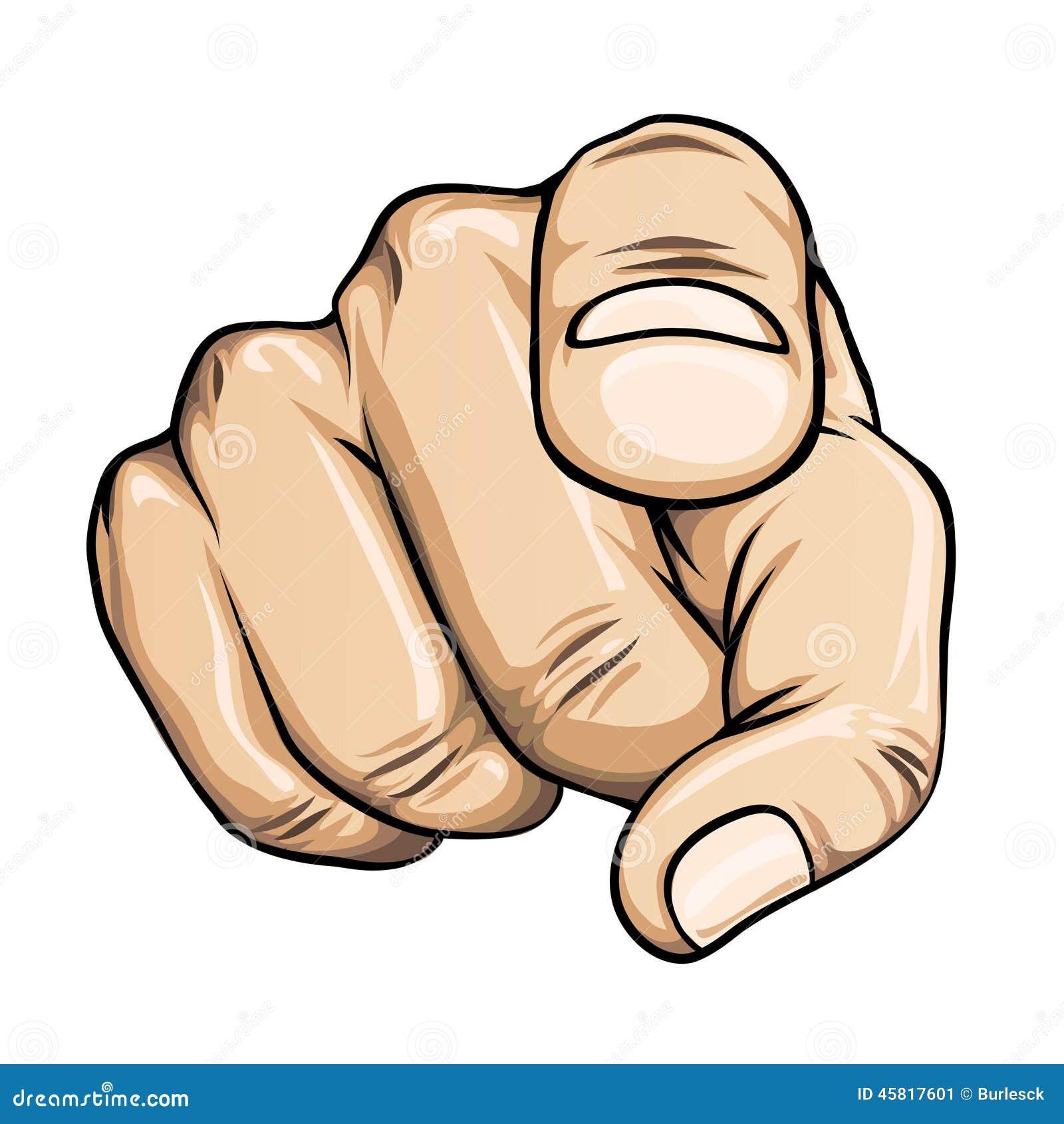Resultado de imagem para Apontando o dedo