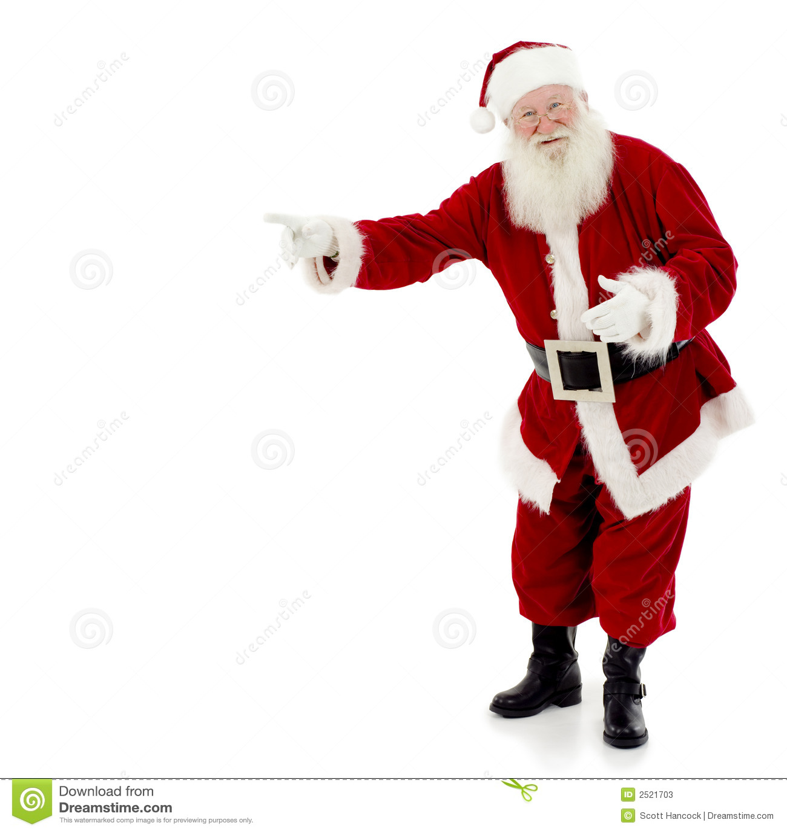 Apontar de Santa