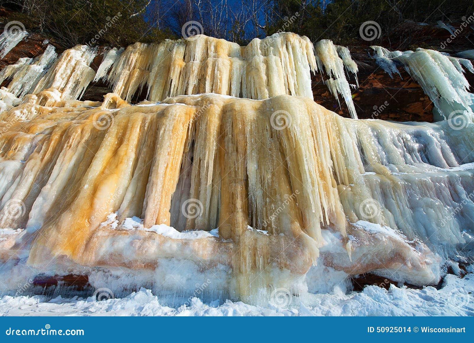 Apostel-Insel-Eis-Höhlen Wisconsin