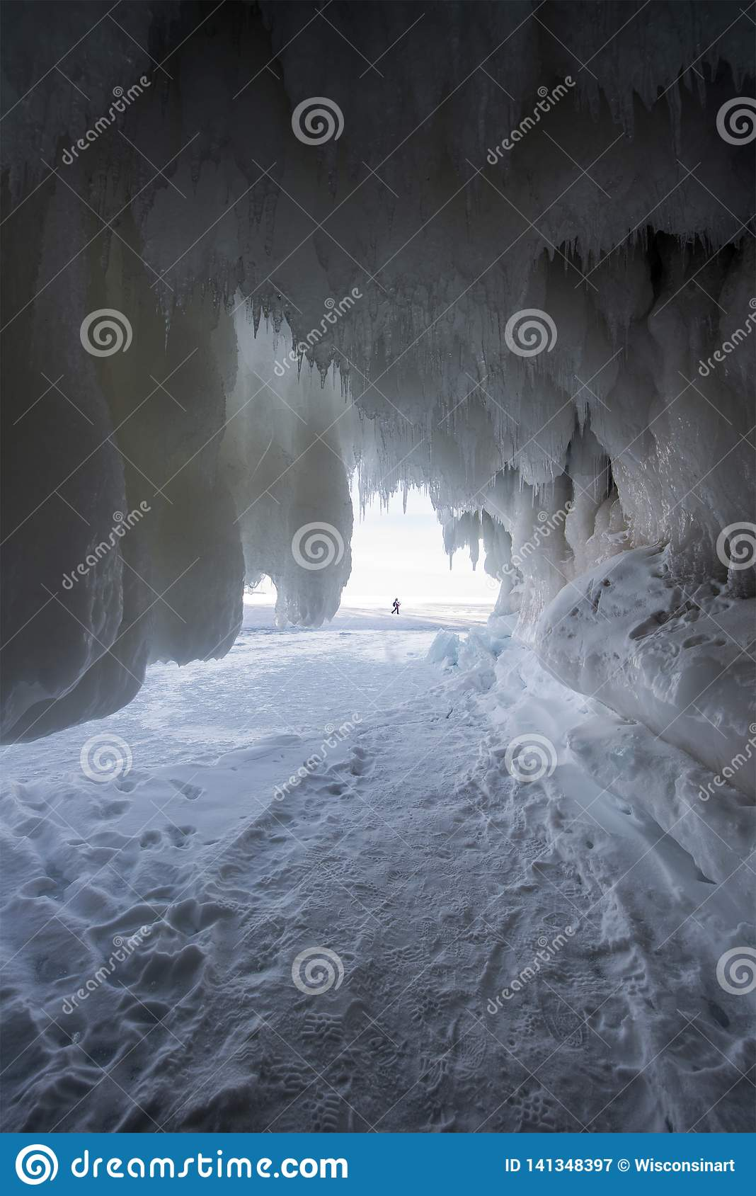 Apostle Islands Ice Caves, Winter, Travel Wisconsin