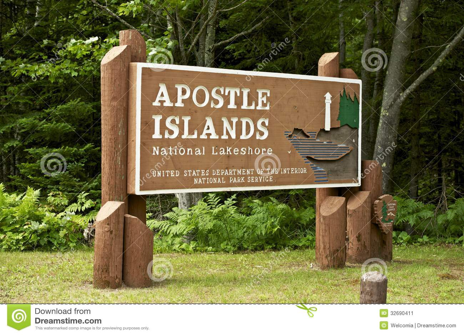 Apostle Islands Stock Image Image 32690411