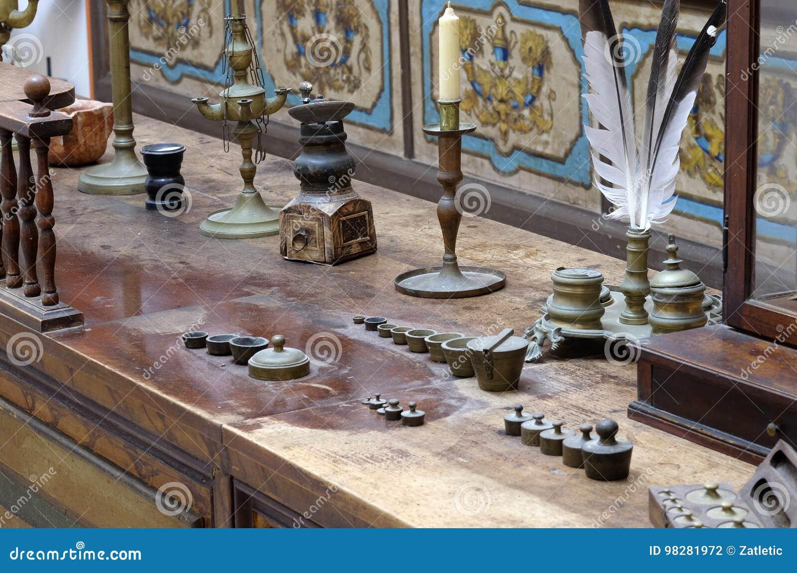 Apotek i världen i Franciscan kloster i Dubrovnik