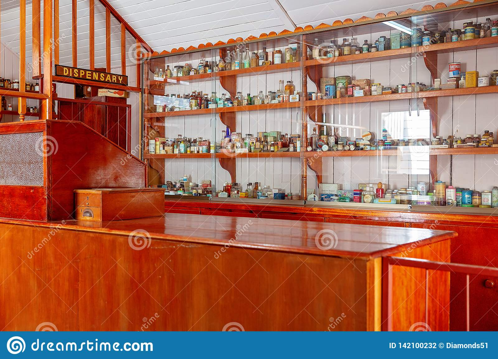 Apotheke bei Miles Museum And Historical Village