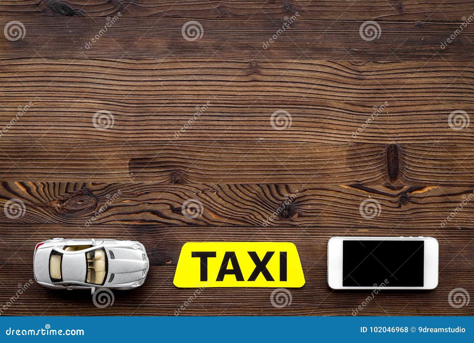 La App Línea Con Un El Móvil Orden Taxi En Para Del Juguete Y TFKlc1J