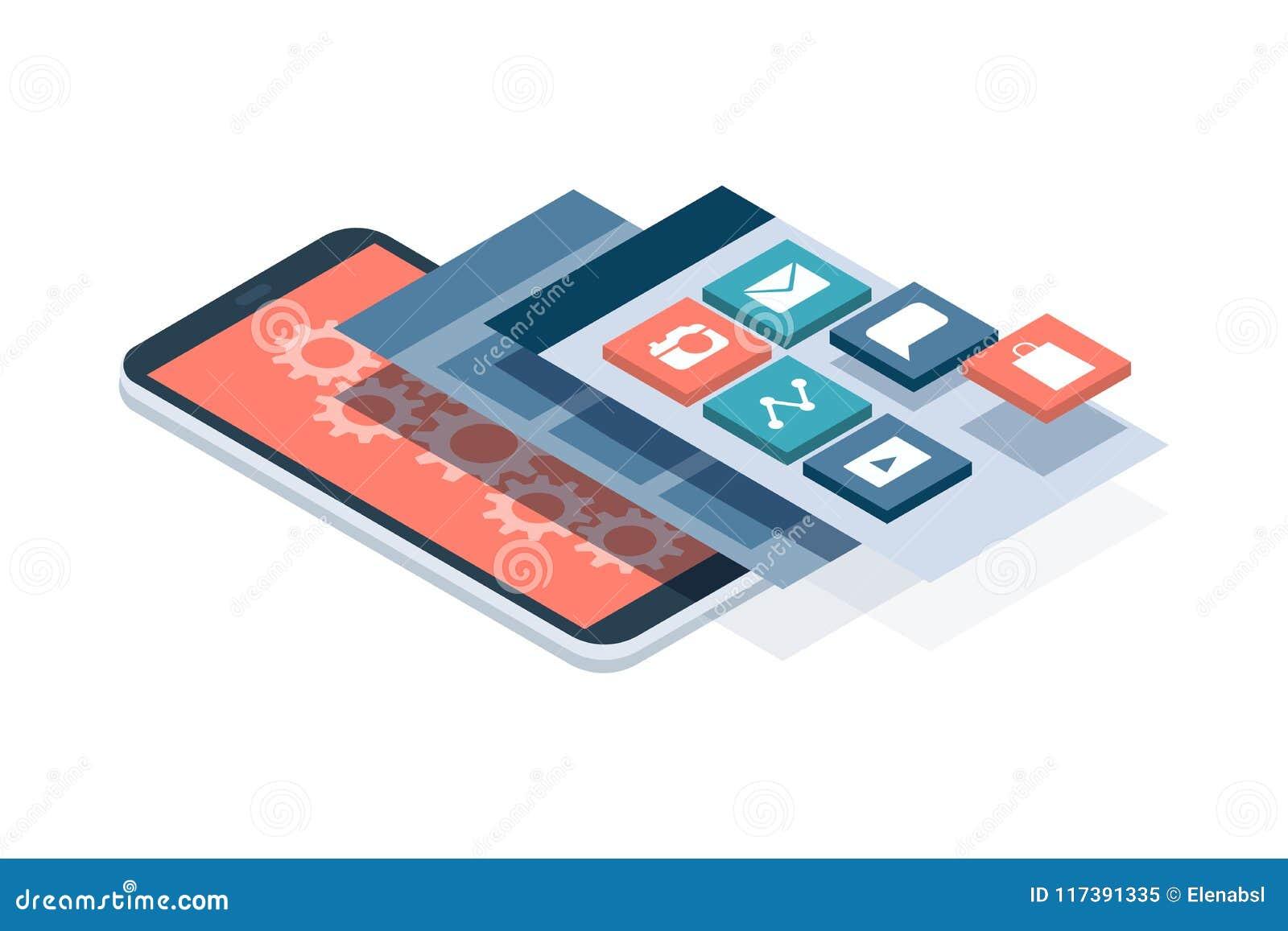 App-utveckling och användargränssnitt
