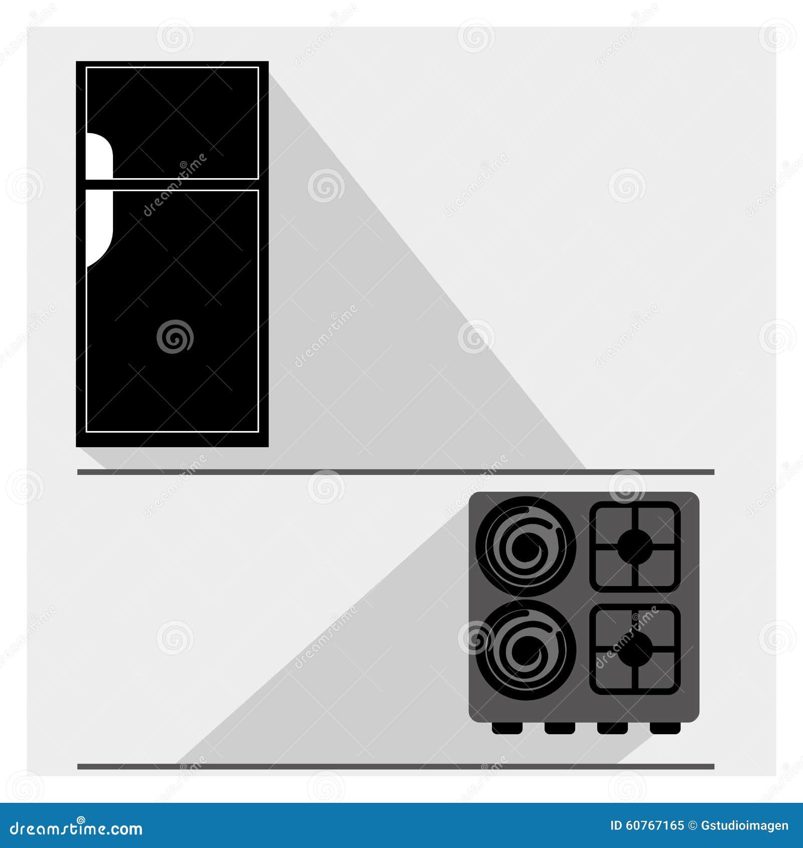 Appareil de cuisine illustration de vecteur image 60767165 for Appareil cuisine