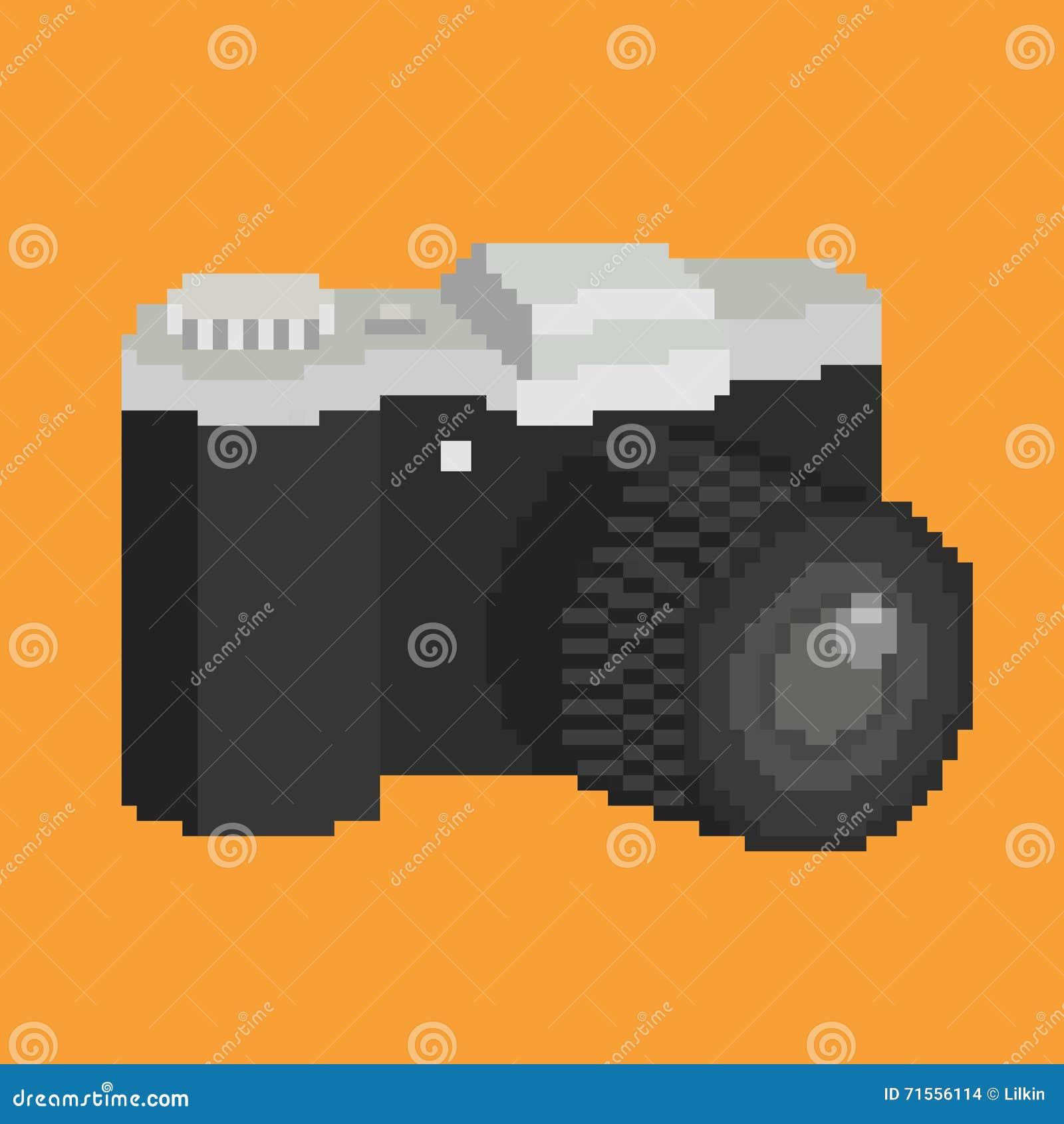 Appareil-photo d art de pixel