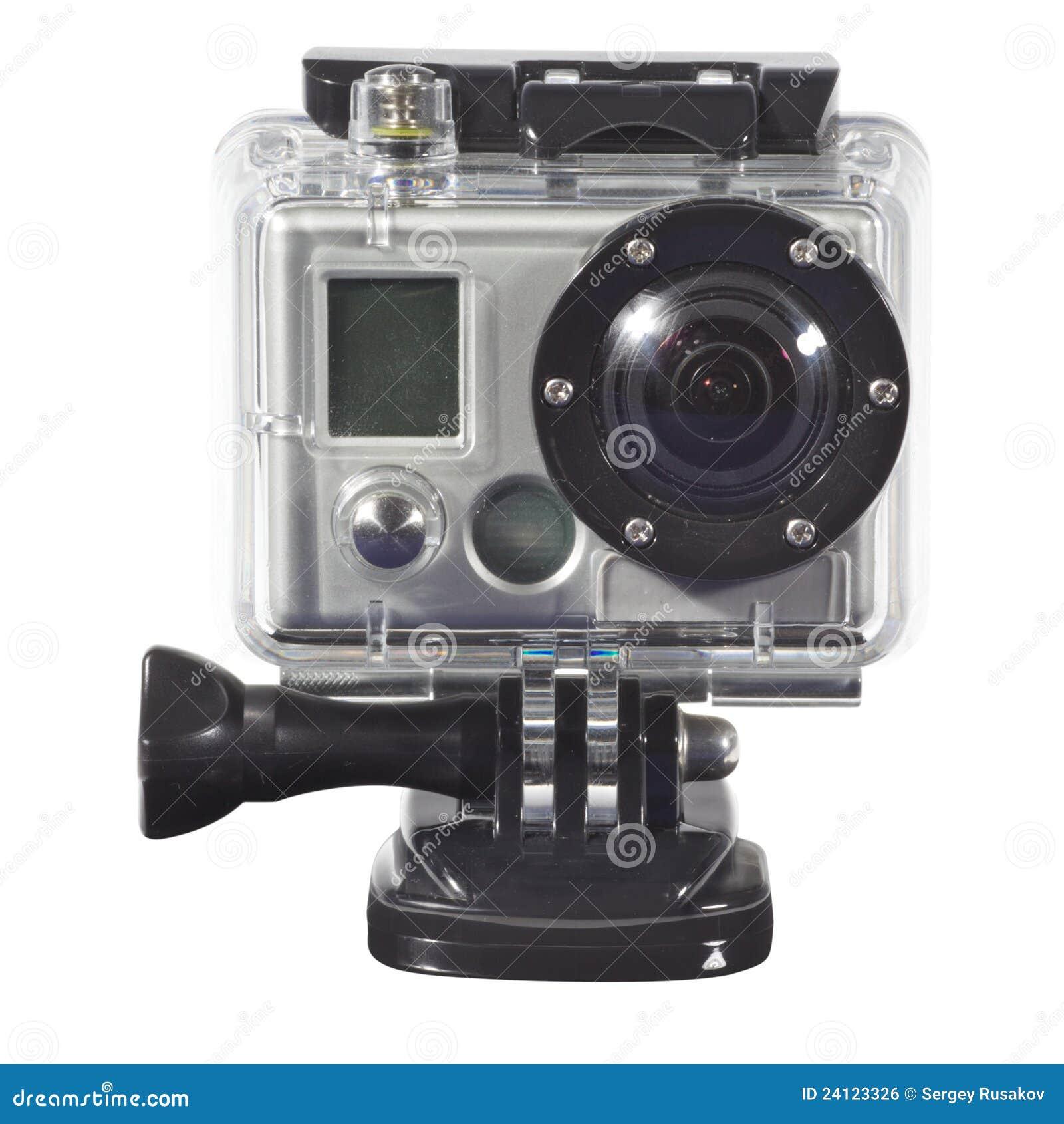 appareil photo dans l'eau