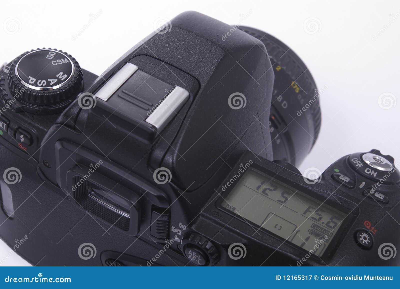 Appareil-photo moderne de SLR