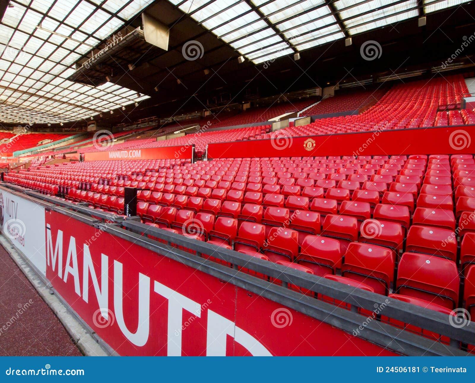 Appariez non le jour au stand occidental de Manchester United