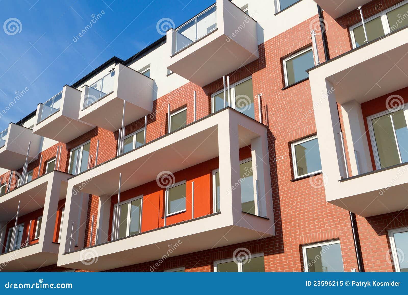 Appartamenti moderni fotografia stock libera da diritti for Appartamenti moderni immagini