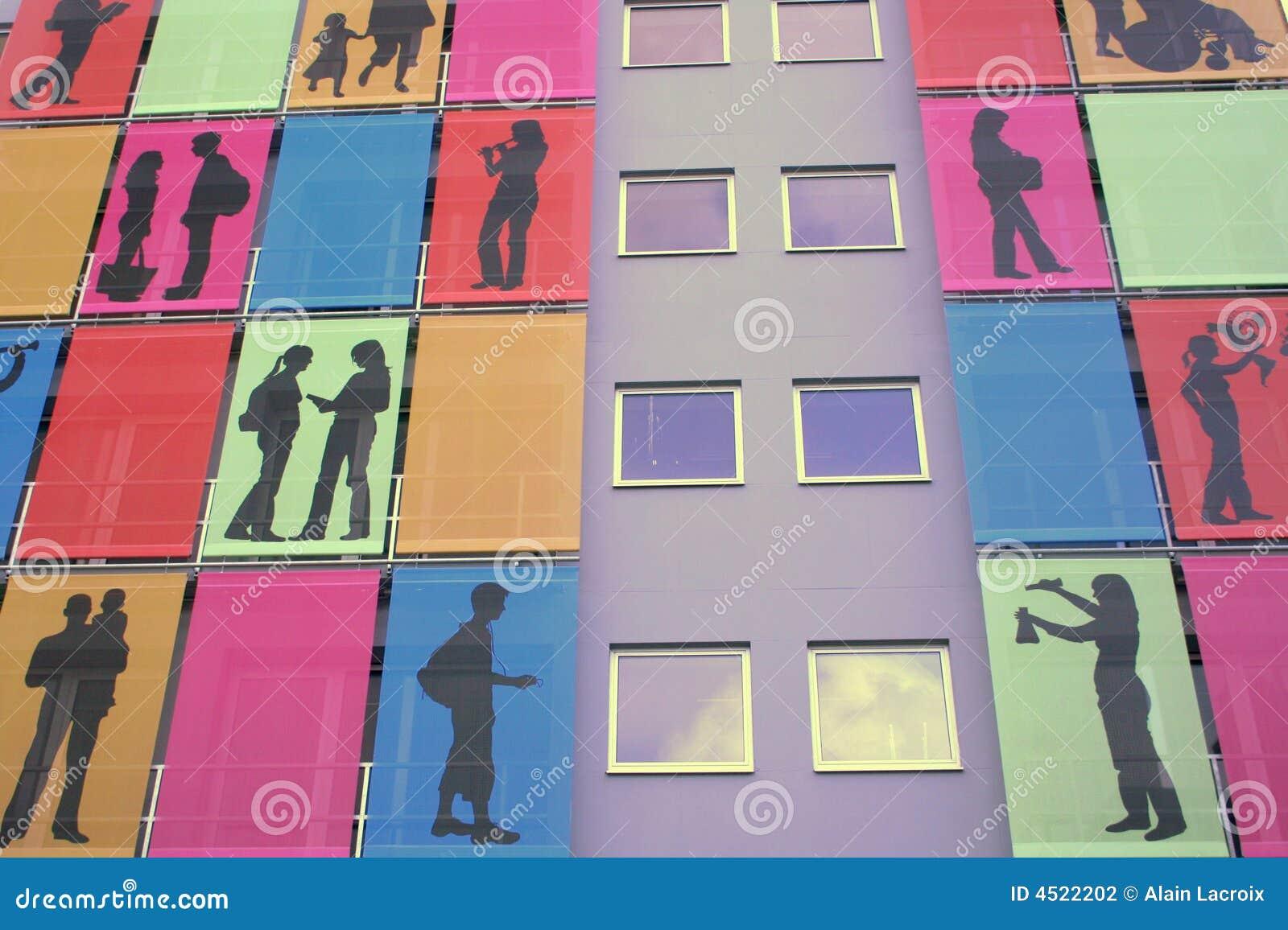 Appartamenti moderni fotografia stock immagine di colori for Appartamenti moderni foto