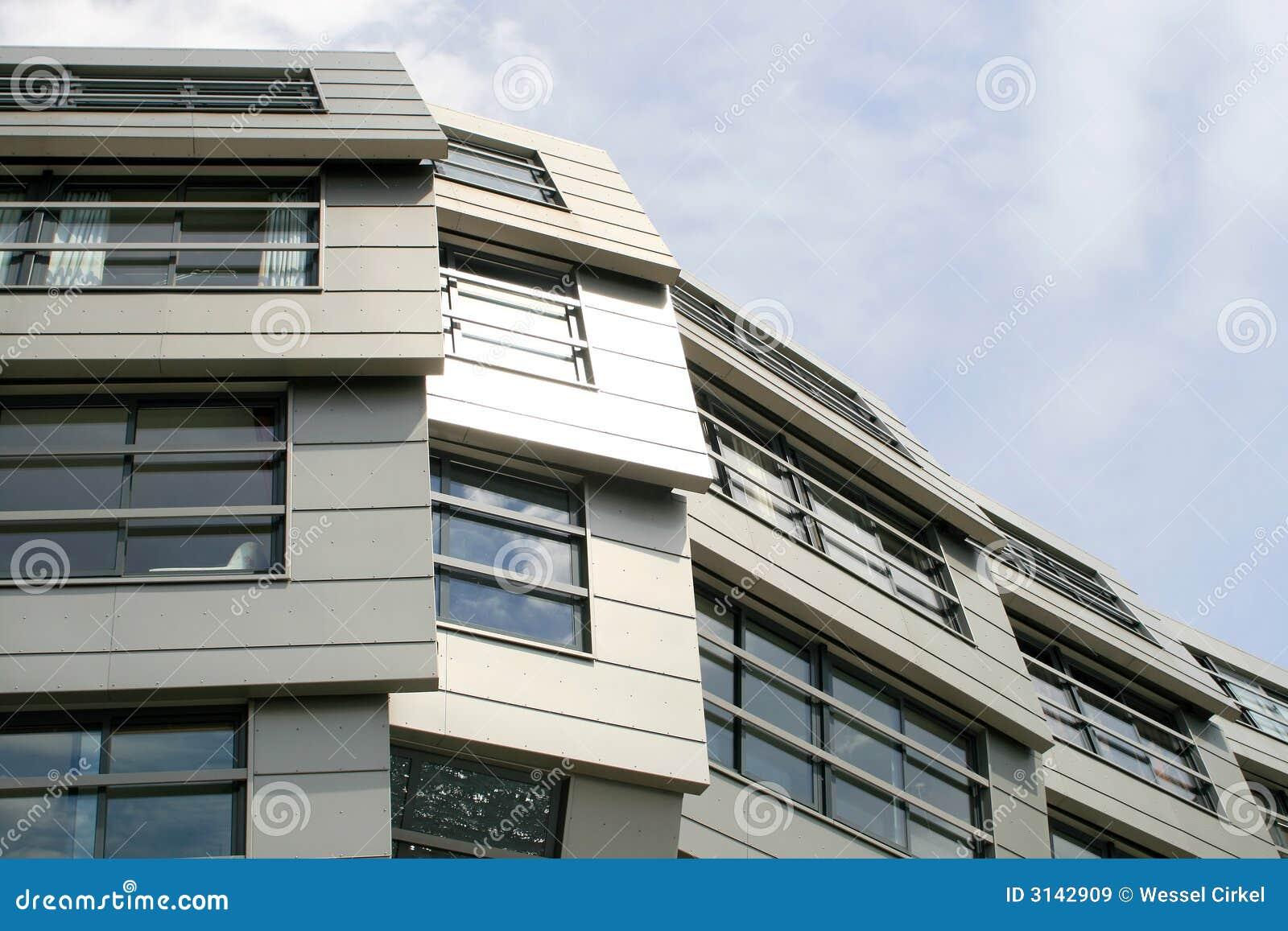 Appartamenti moderni in almere immagine stock immagine for Foto appartamenti moderni