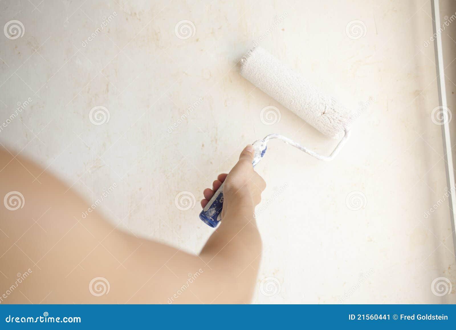 Appartamento della pittura della ragazza