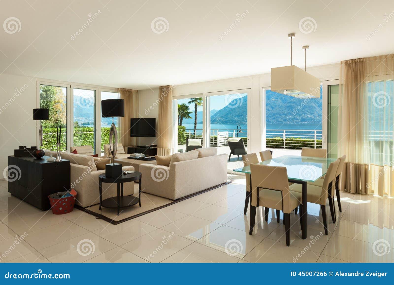 Appartamento interno e moderno