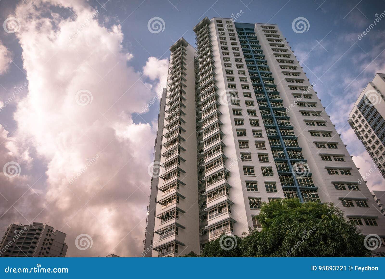 Appartamento residenziale pubblico dell alloggio di Singapore in Bukit Panjang