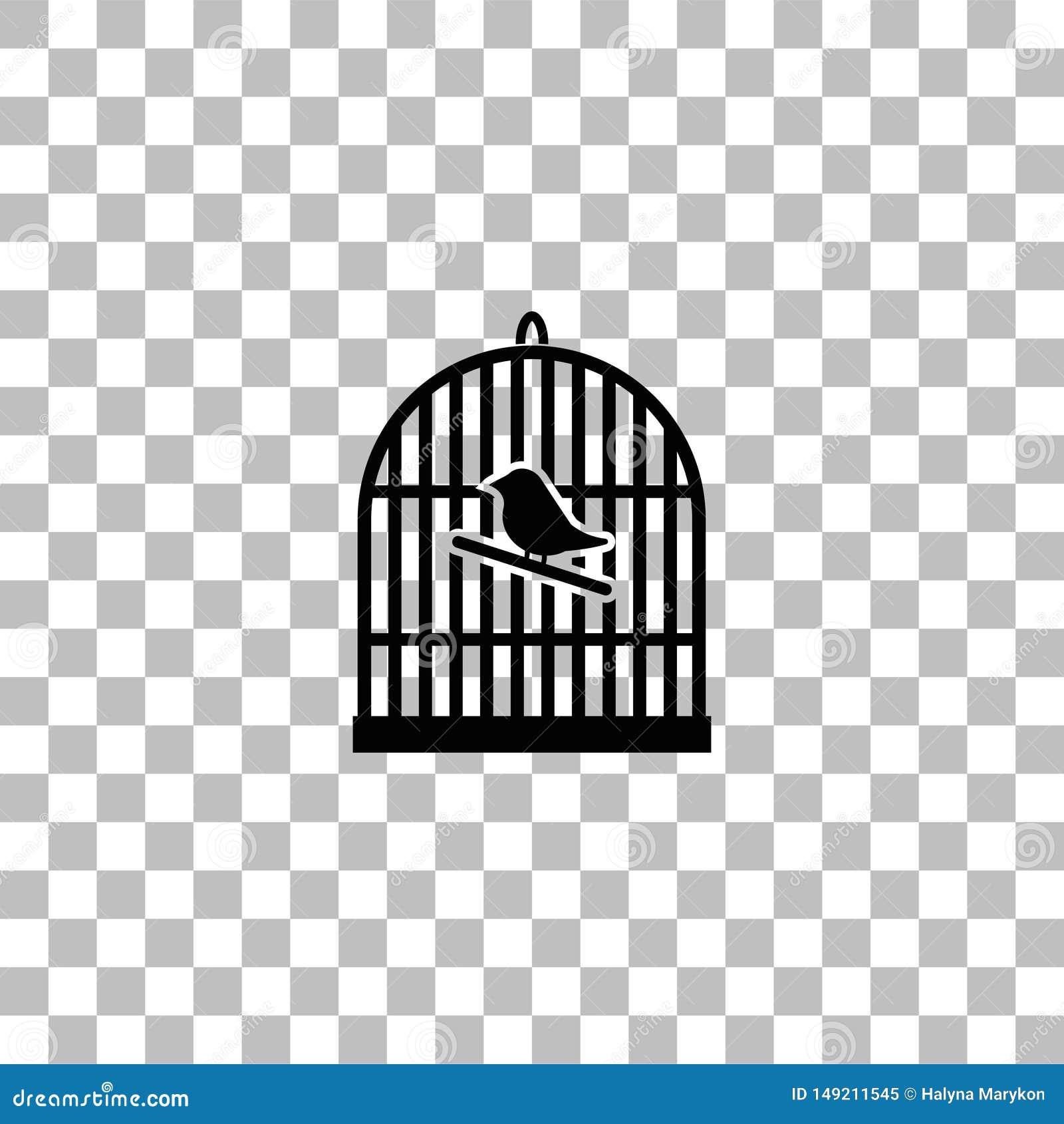 Appartement d ic?ne de cage ? oiseaux
