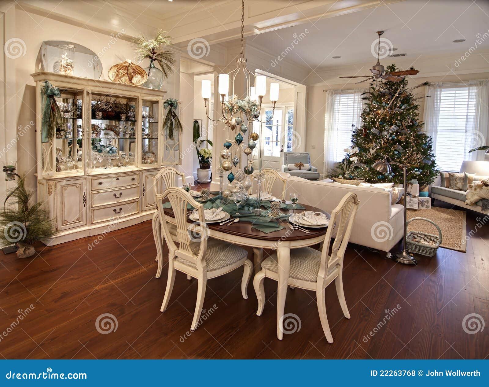 Appartement de luxe de no l photos libres de droits image 22263768 - Les plus belles cheminees ...