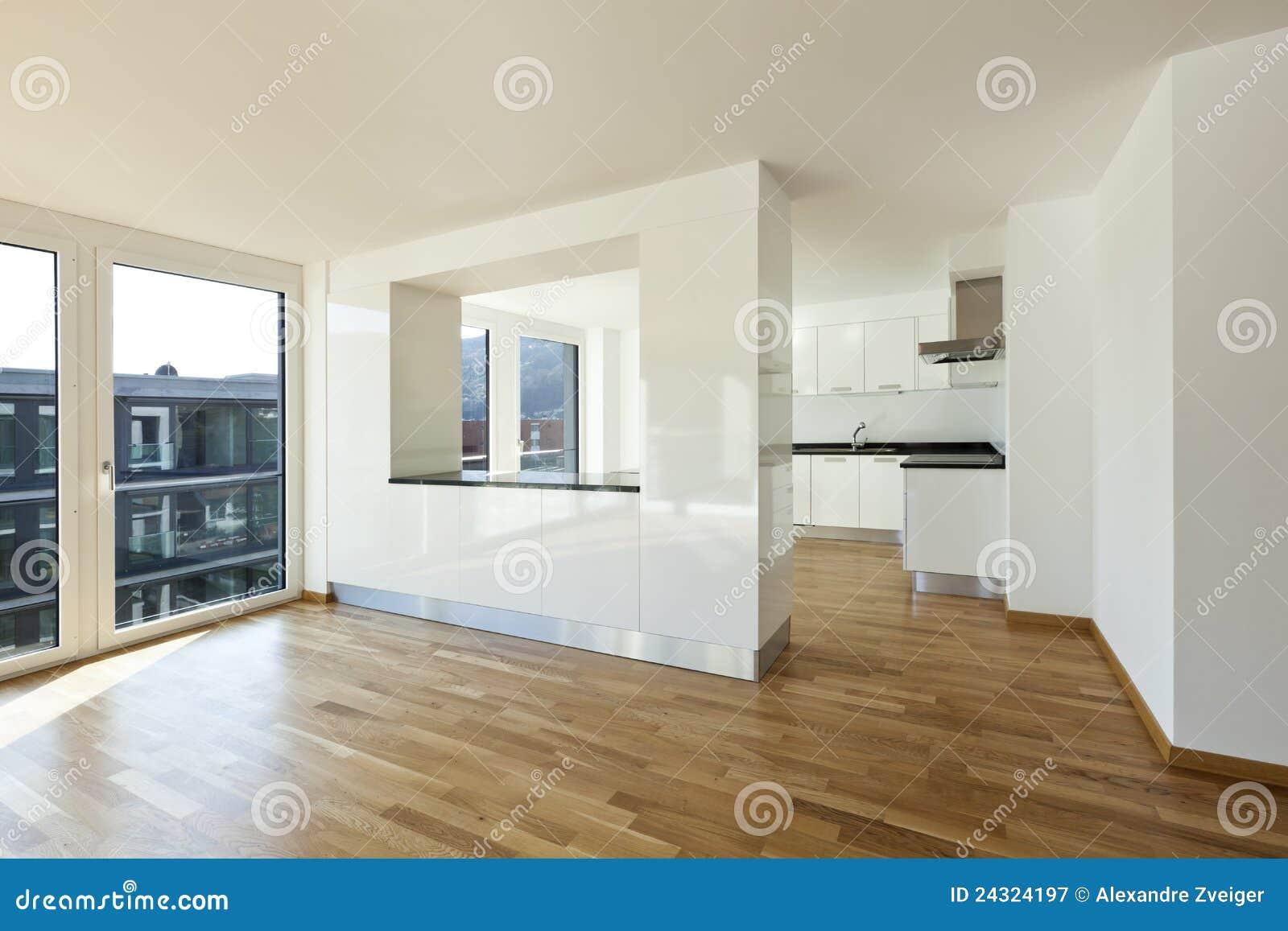 Appartement neuf int rieur photographie stock libre de for Appartement interieur