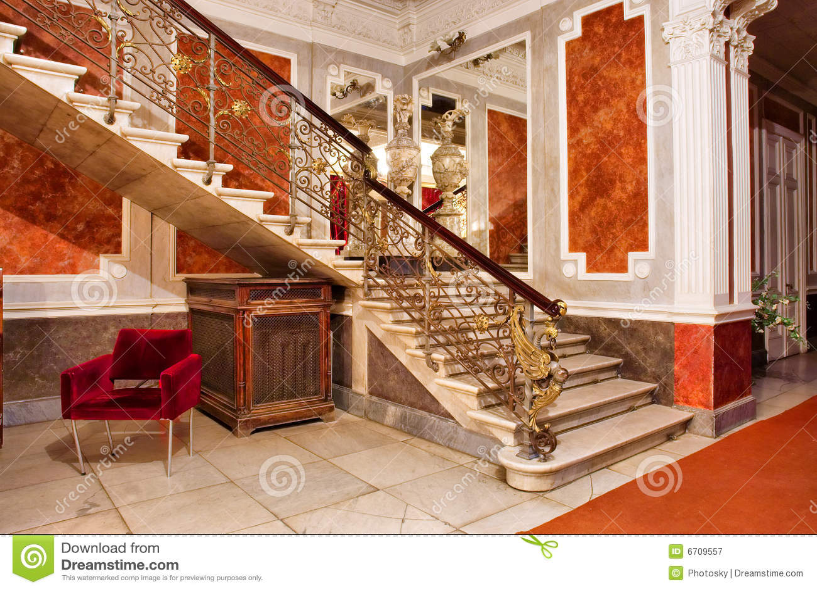 escalier interieur luxe