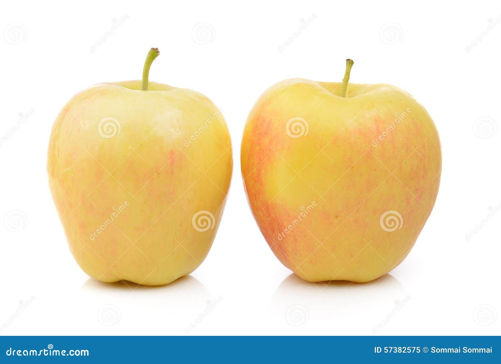 Appel op witte achtergrond