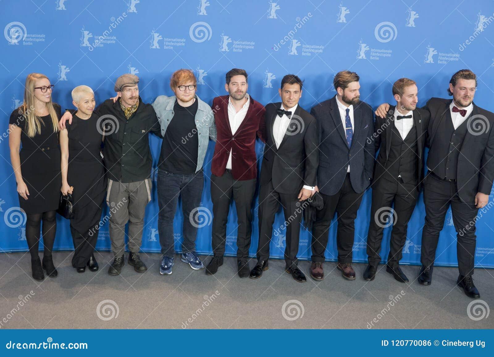 Appell för foto för `-låtskrivare` under den 68th Berlinale festivalen 2018