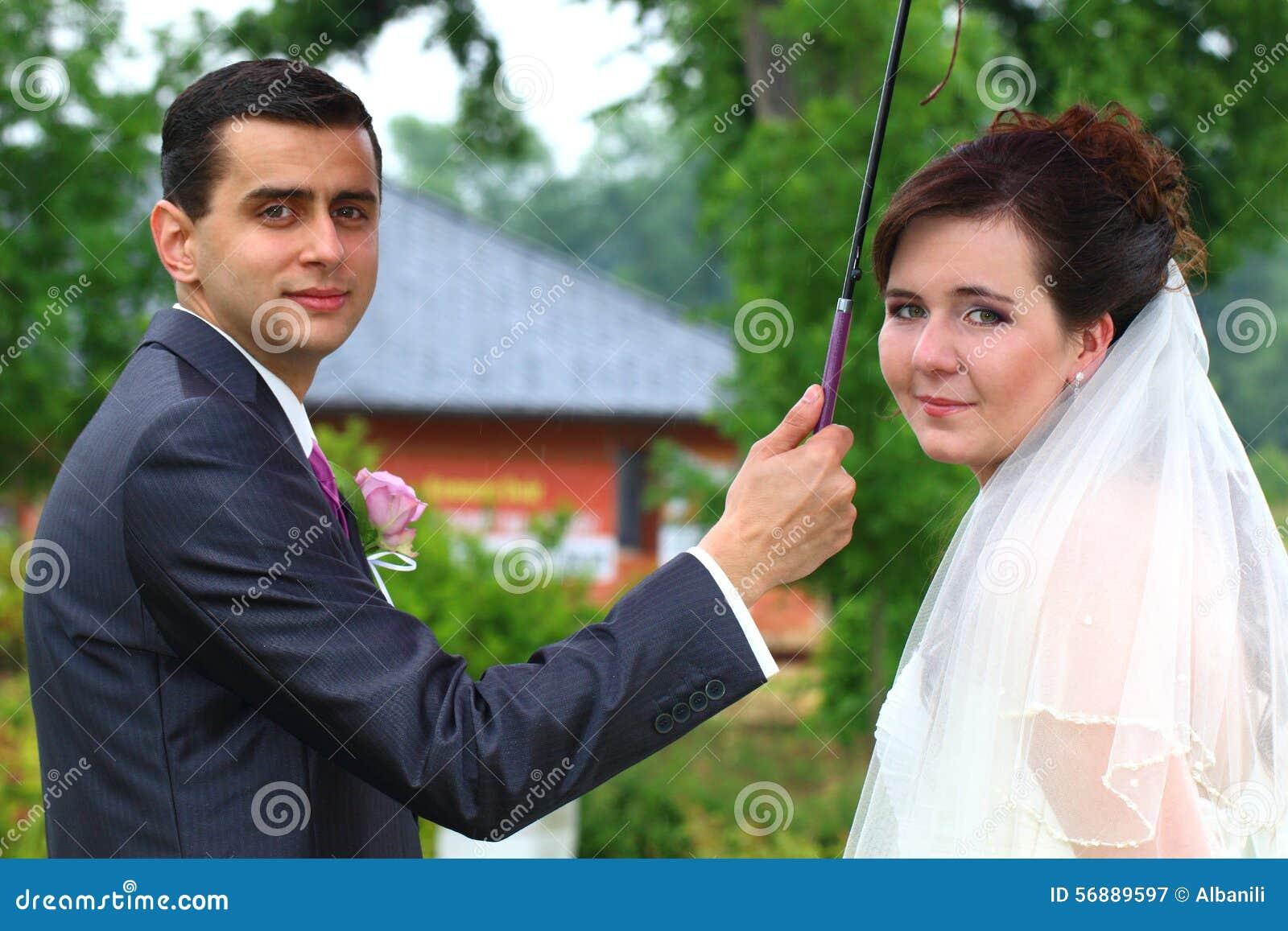 Appena ritratto sposato