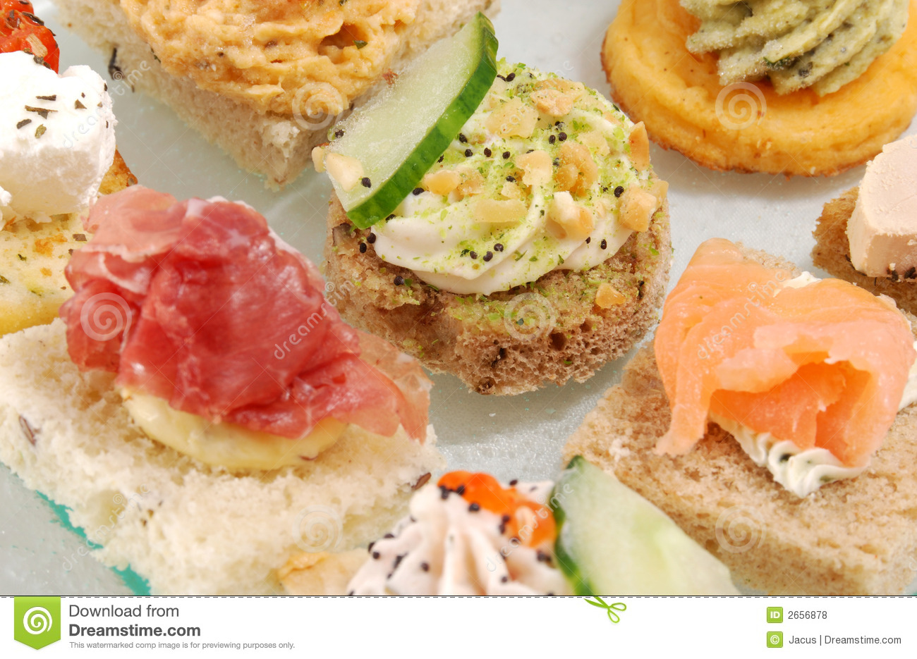 Appetizer canape royalty free stock photos image 2656878 for Canape software