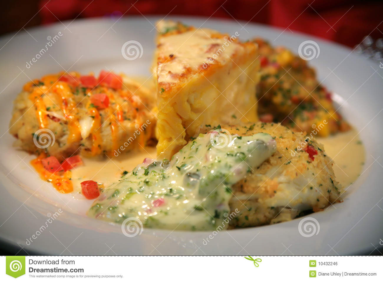 Crab Cakes With Cream Cheese