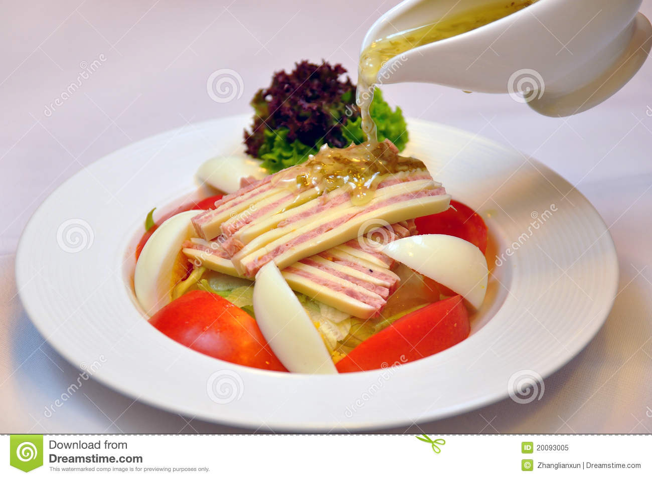 Appetizer salad stock image image of dinner lunch for Cuisine western